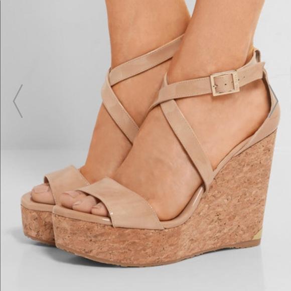 b78997b12e8 Jimmy Choo Portia 120 wedge sandals